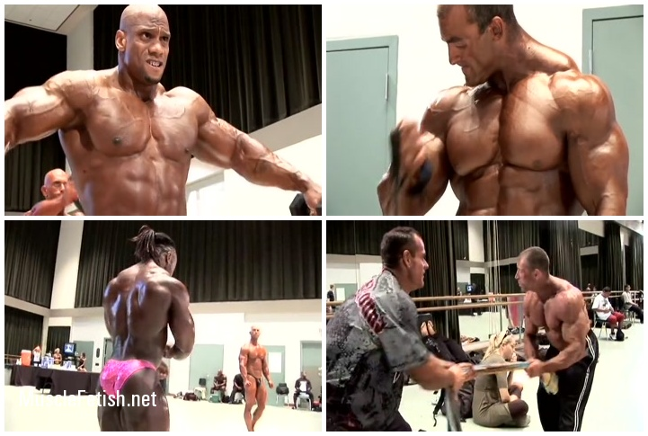 2009 IFBB Tampa Pro Bodybuilding Championships Backstage
