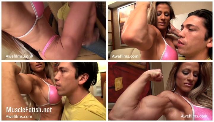 Admiring Maria Garcia - female muscle domination