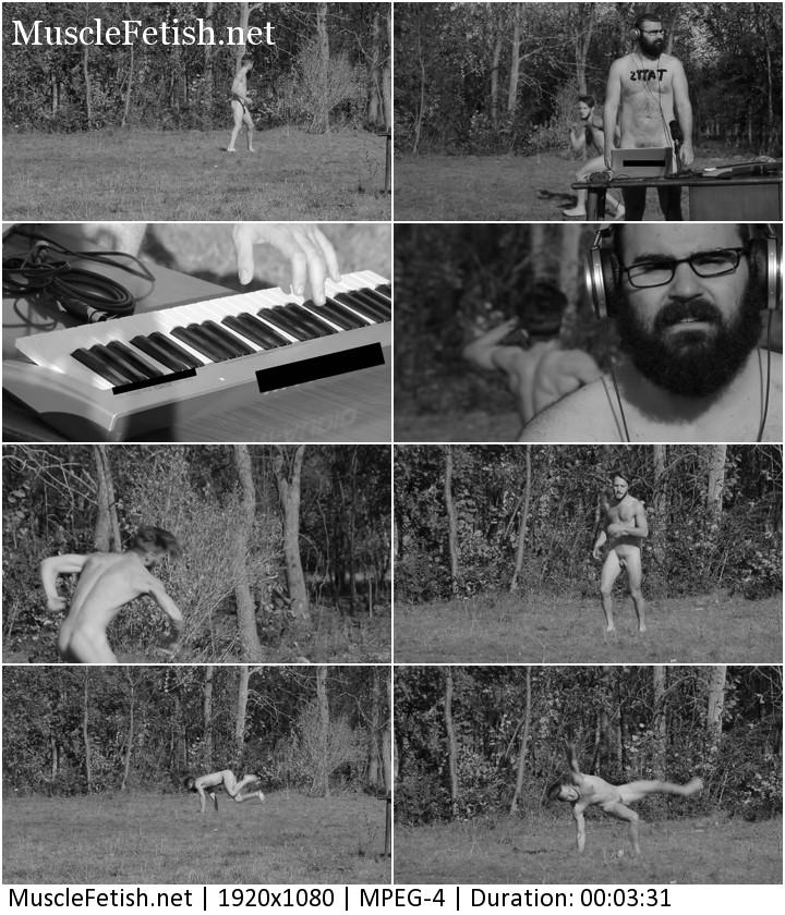 Aleks Vujosevic - Naked dancer and nude DJ