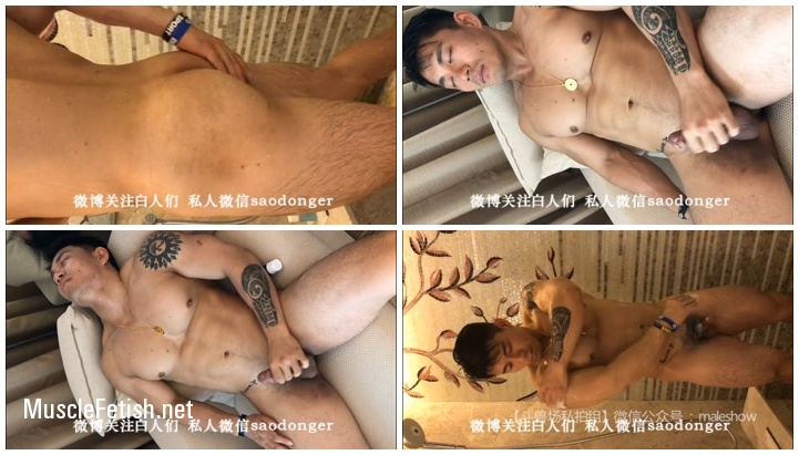 Amateur Selfie from Asian Bodybuilder Weiping Zhou - Sexy Male Show