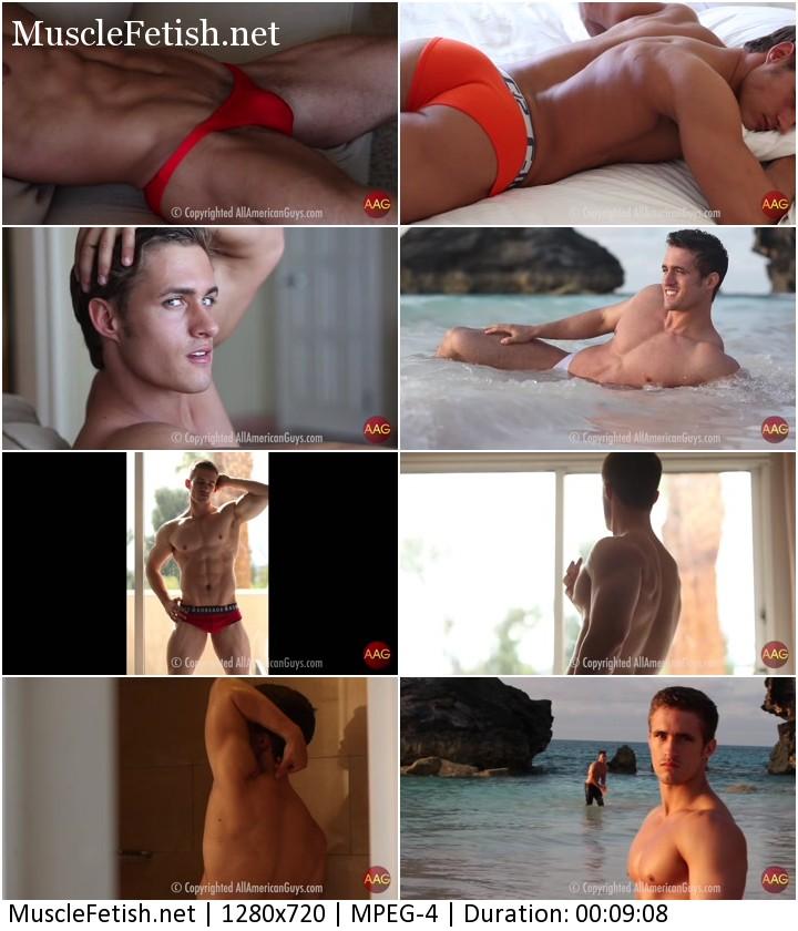 American bodybuilder Robert B photo shoot