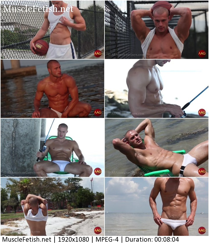 American fitness guy - Ryan T - sexy recovered footage