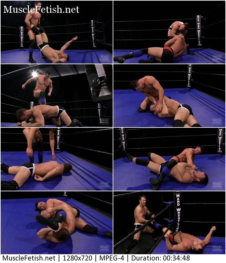 Austin Cooper vs Dash Decker - hard male wrestling 2015