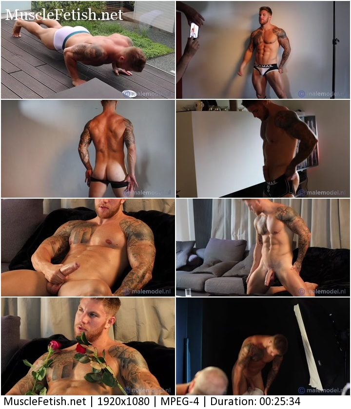 Back Phil Athletic Hunk with hot bodybuilder Philippe Soulier