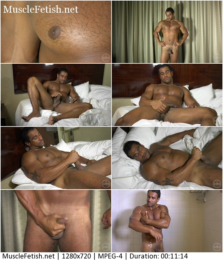 Beefy brazilian apollo - handsome muscle daddy XXX