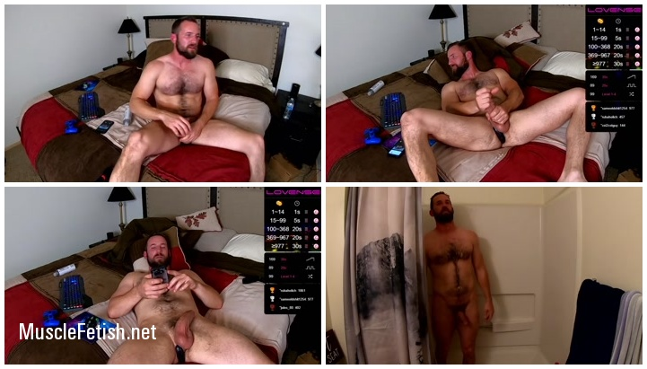 Benny Bee from Chaturbate posing on cam