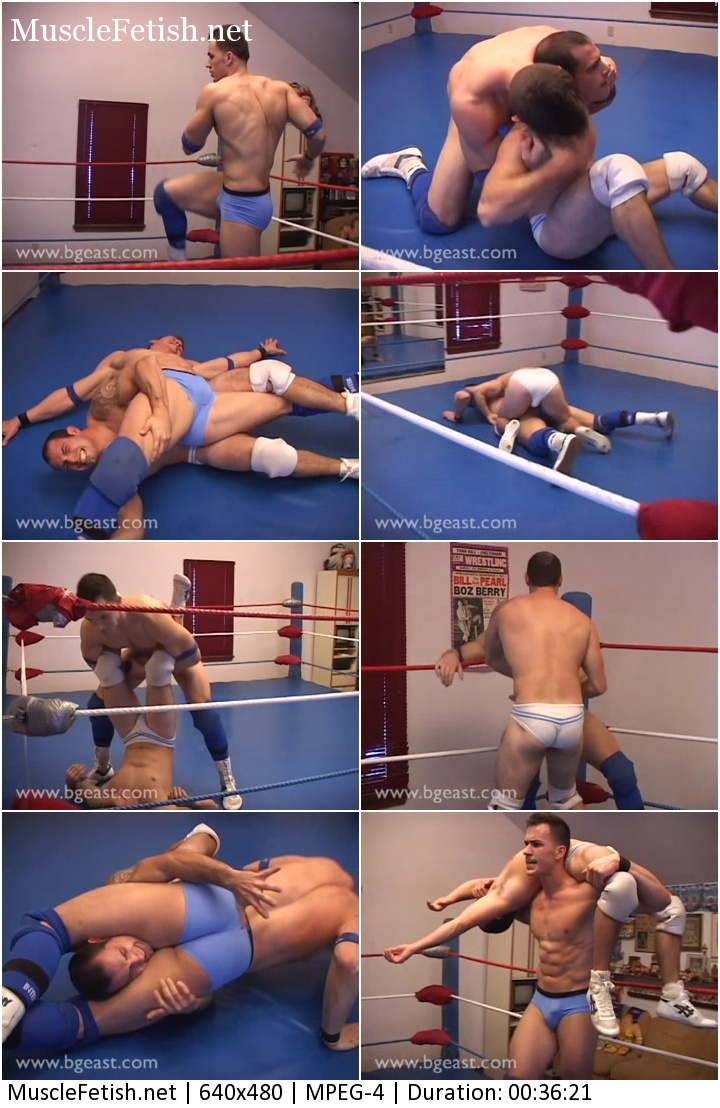 Bgeast Wrestling video - Alexi Adamov vs Denny Cartier