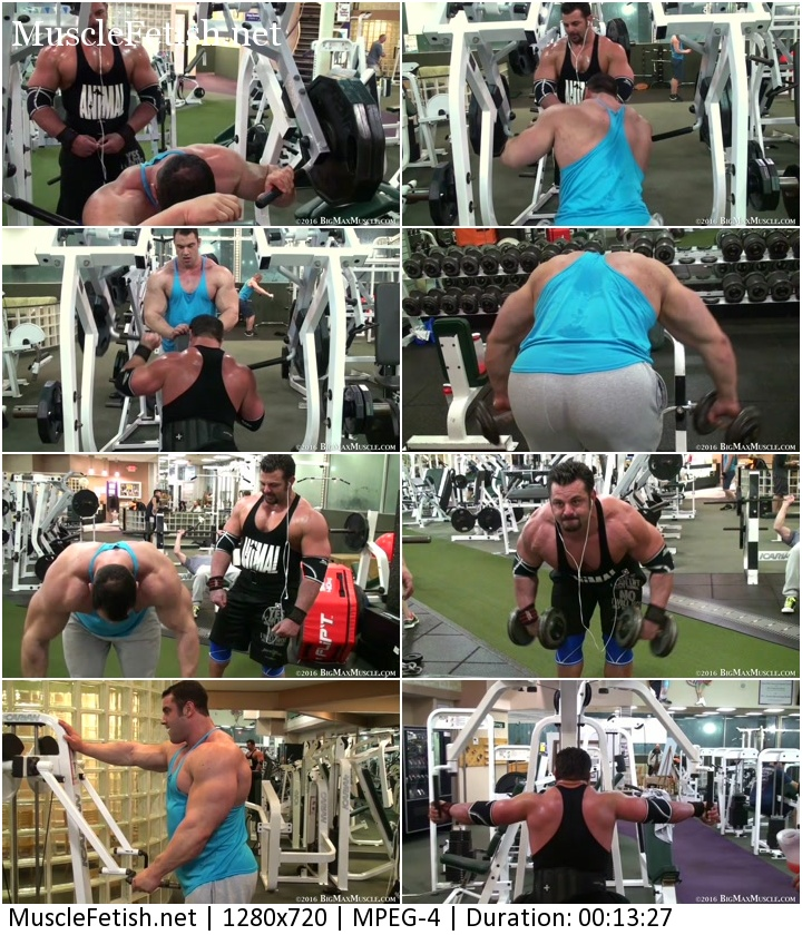 BigMaxMuscle video - Work out with Frank (HD)