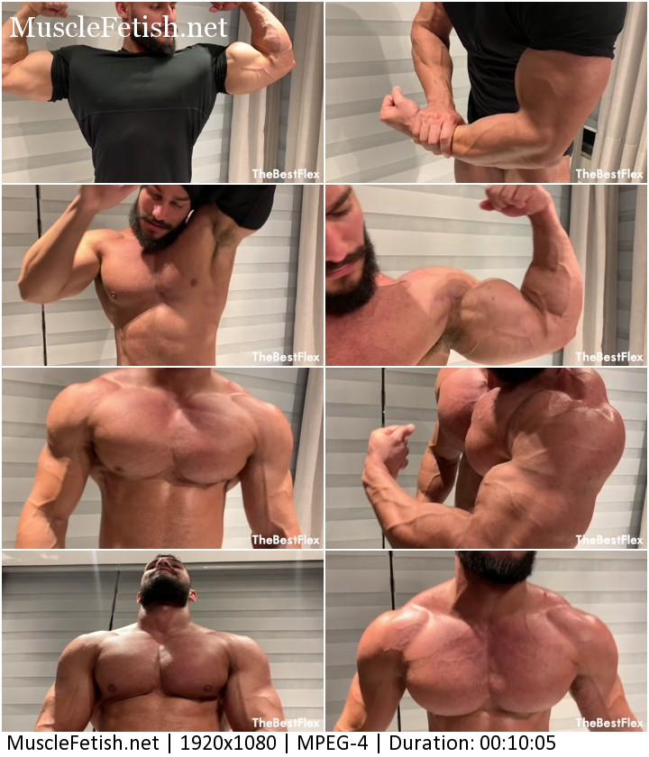 Bodybuilder Airon - muscle god perfection from TheBestFlex