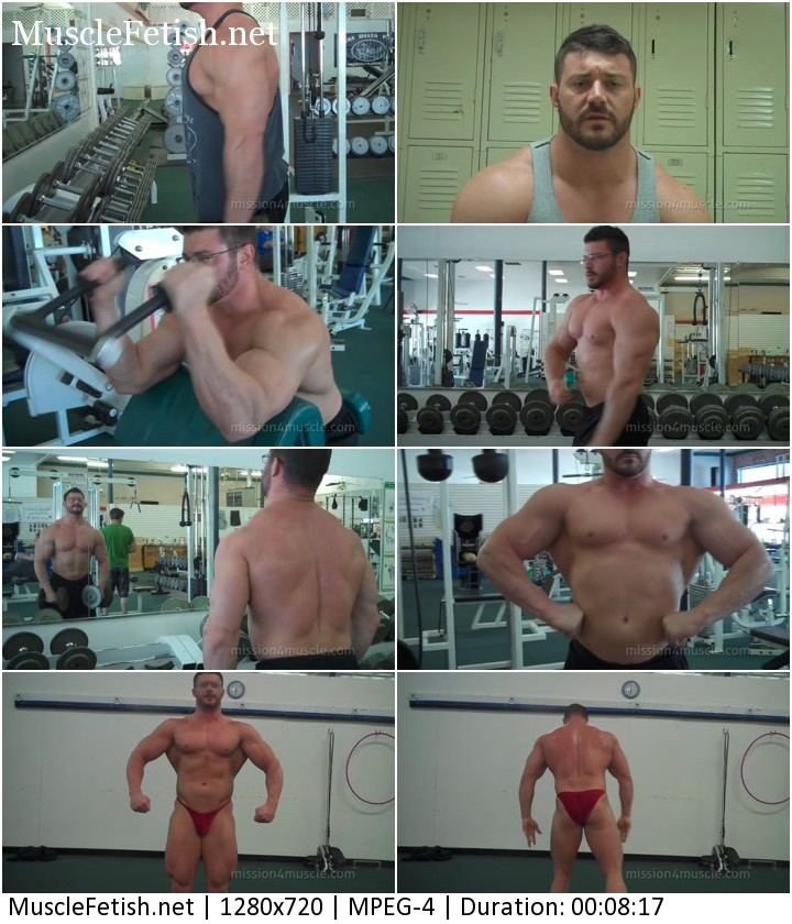 Bodybuilder Austin Lewis - Muscle Audition from Mission4Muscle