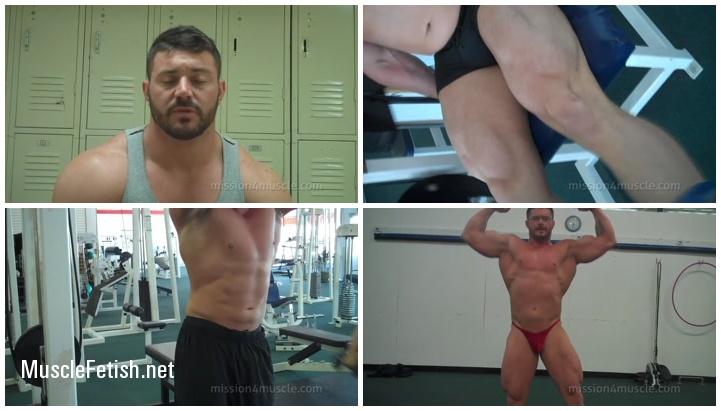 Bodybuilder Austin Lewis - Muscle Audition