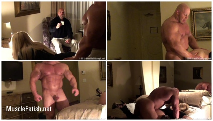 Bodybuilder Brad Hollibaugh Escort Part 2