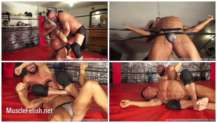 Bodybuilder Braden Charron vs Flash LaCash - Muscle Domination Wrestling