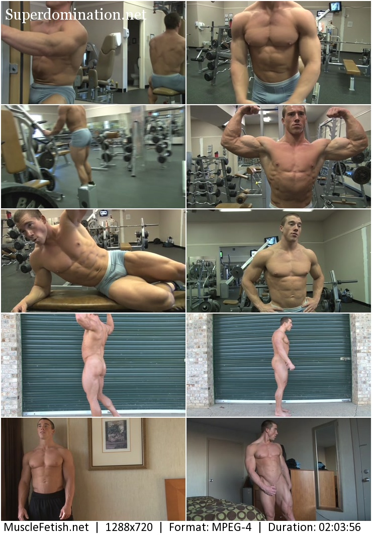 Bodybuilder Brandon B Photoshoot part 2 (2014 year)