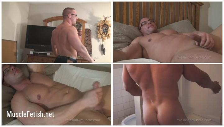 Bodybuilder Brock Vinson - Cock and Loaded