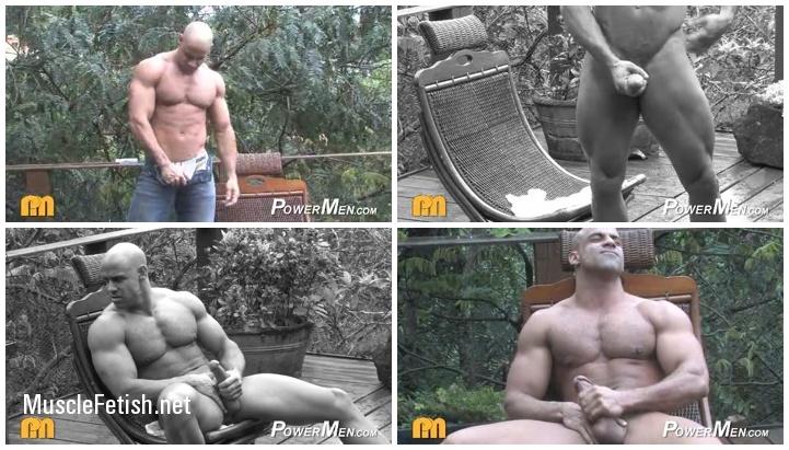 Bodybuilder Butch Branson (aka Ariel Sty) Photo Shoot from Power Men