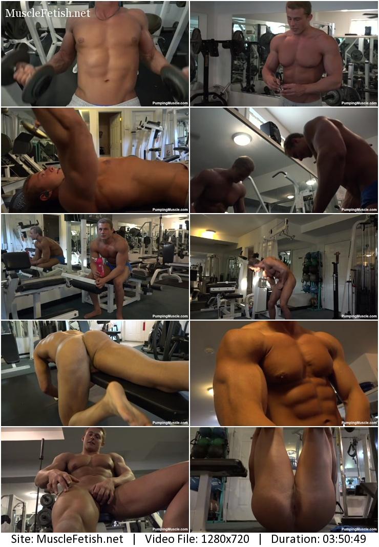 Bodybuilder Carson B photo Shoot part 1