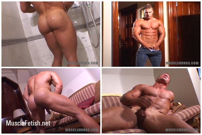 Bodybuilder Christian Engel's - MuscleHunks Heavenly Hunk