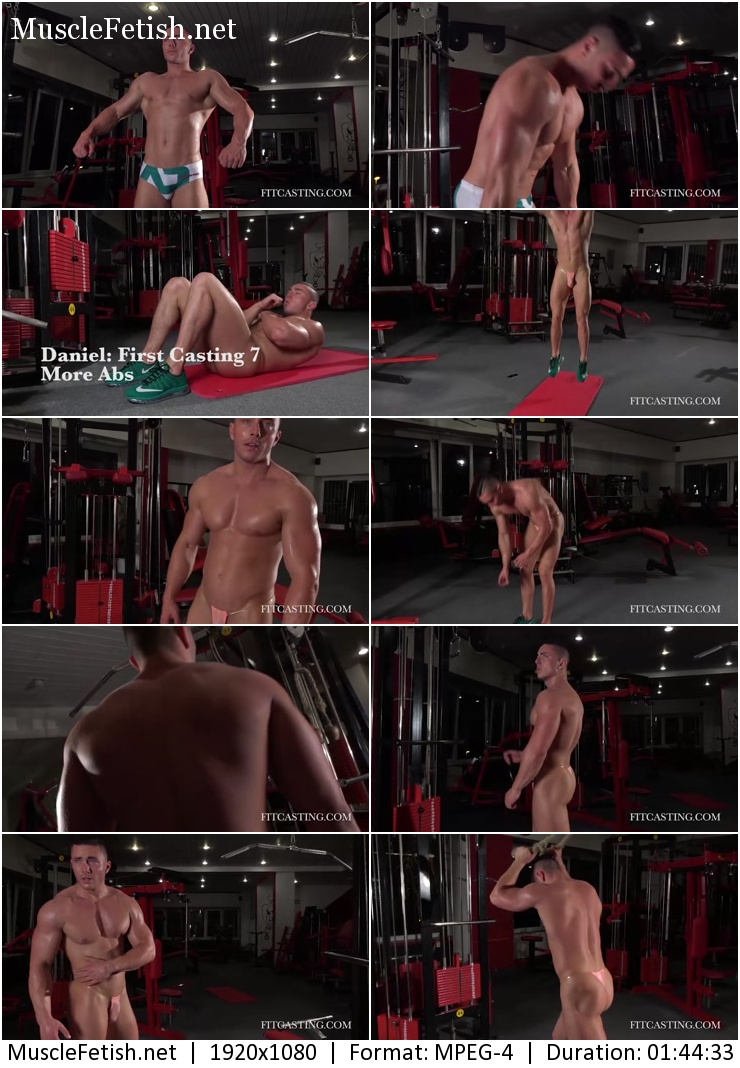 Bodybuilder Daniel – First Casting collection (all parts in one file)