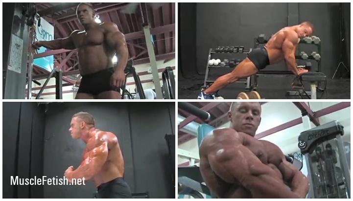 Bodybuilder Daniel Toth - video and photo shoot