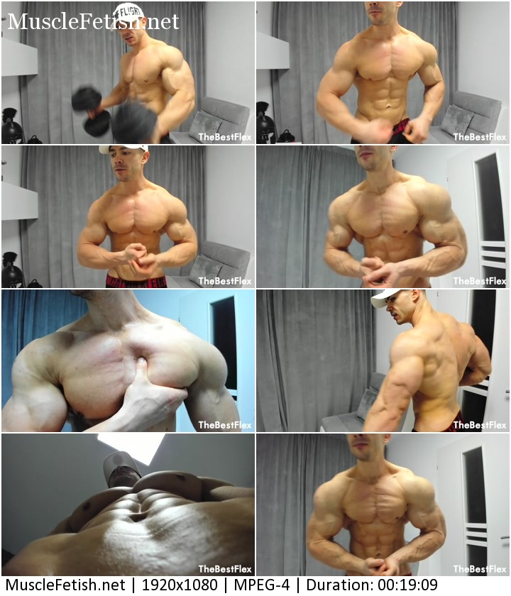 Bodybuilder Forbidme - Worship My Pumped Up Muscles from TheBestFlex