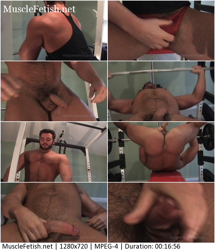 Bodybuilder Frank the Tank DeFeo - bear muscle workout from Mission4Muscle