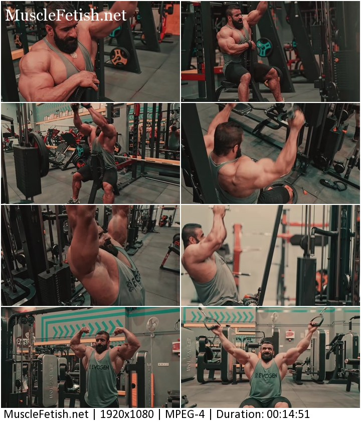 Bodybuilder Hadi Choopan 2021 (no sex)