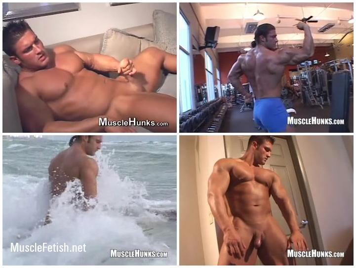 Bodybuilder Joe Logan from Musclehunks - Varsity Muscle