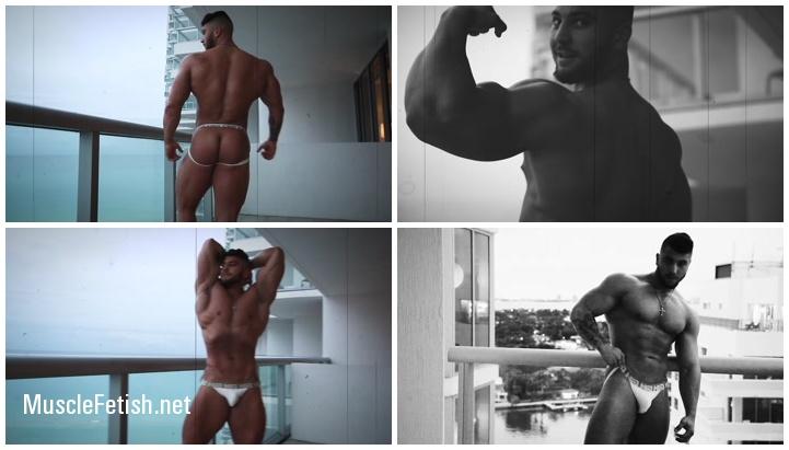 Bodybuilder Joe - wachs body showoff