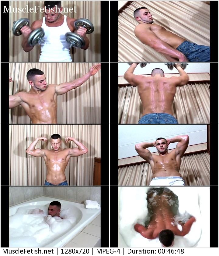 Bodybuilder Joey Sweats - male muscle force