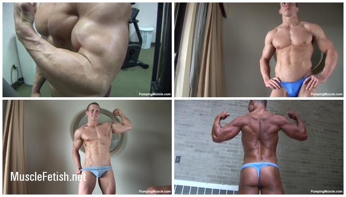 Bodybuilder John F at 22 and 25