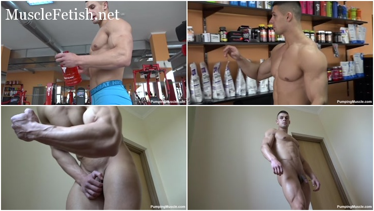 Bodybuilder Josef L (once Andrei V) Photo Shoot 3