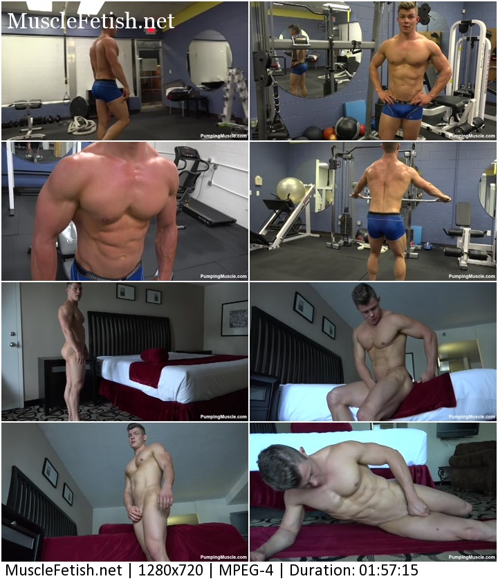 Bodybuilder Joshua S Photo Shoot Part 2 - PumpingMuscle