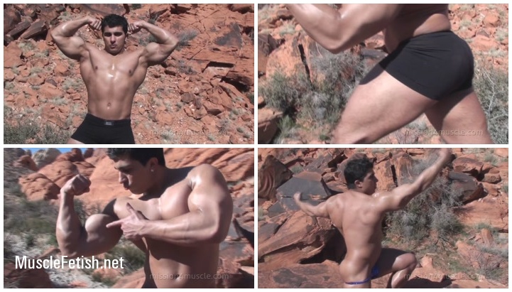 Bodybuilder Karl Kasper - Red Rock Muscles