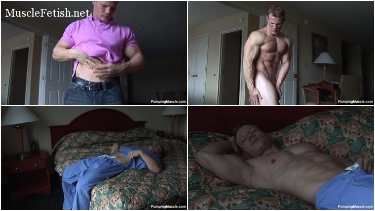 Bodybuilder Karl photo shoot