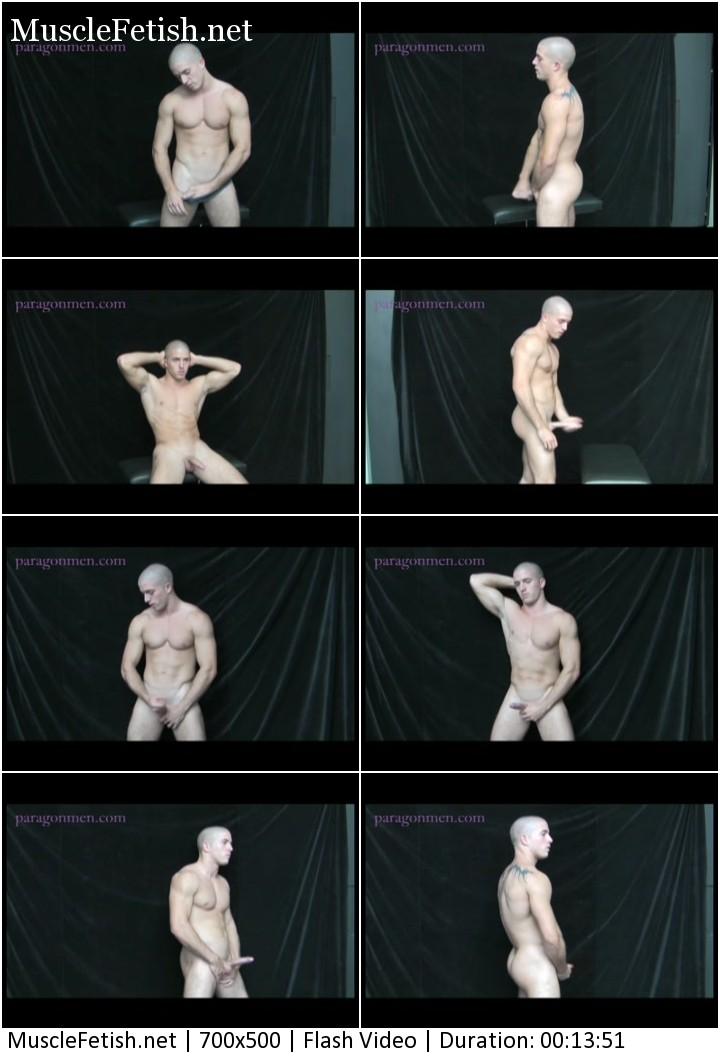 Bodybuilder Leo Diamond - frontal nudity and jerk off from ParagonMen