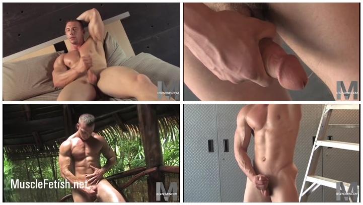 Bodybuilder Liam Markham from LegendMen video