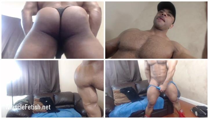 Bodybuilder Marcel Nadir - Underwear Show