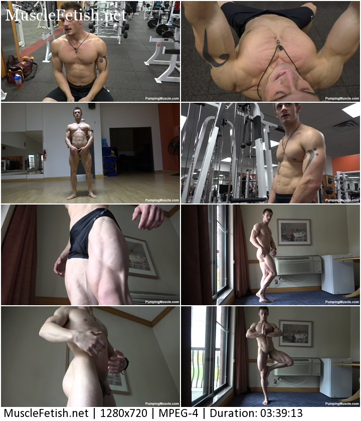 Bodybuilder Maxwell T Photo Shoot Part 1 - Pumpingmuscle