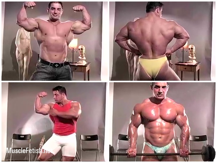 Bodybuilder Mike Dragna - 8 videos