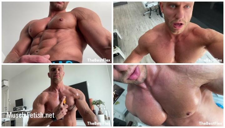 Bodybuilder Molertm - Oiled Up Shredded Hunk
