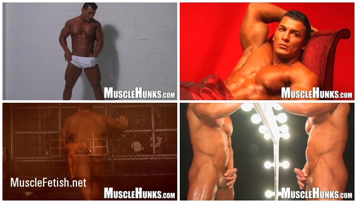 Bodybuilder Omar Fabrouk - The Muscle Stripper from MuscleHunks