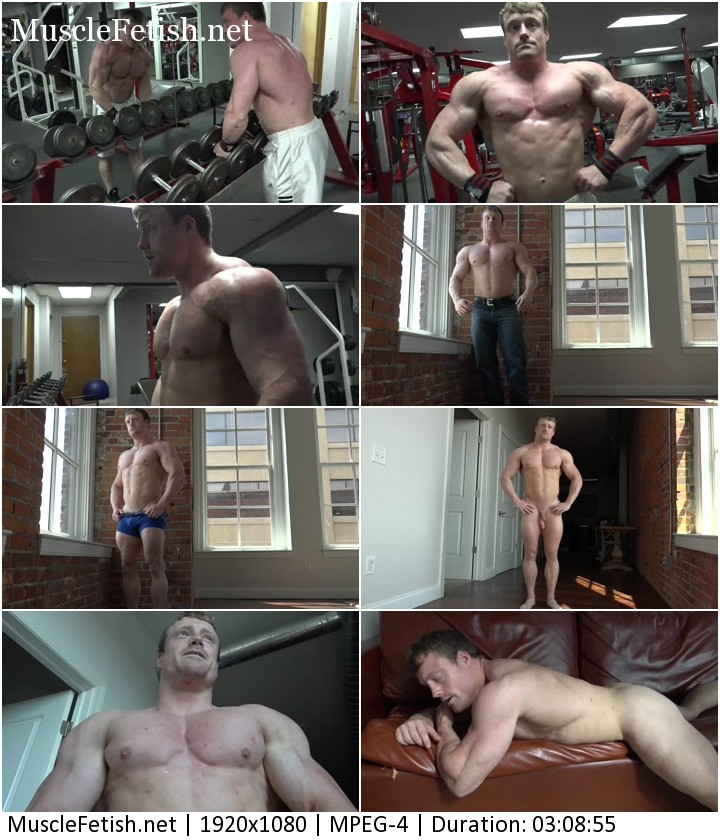 Bodybuilder Ralf Photo Shoot 1 - full video from Pumpingmuscle
