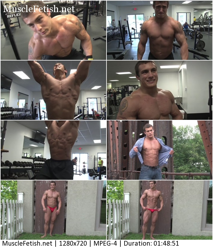Bodybuilder Rex G Photo Shoot - Pumpingmuscle