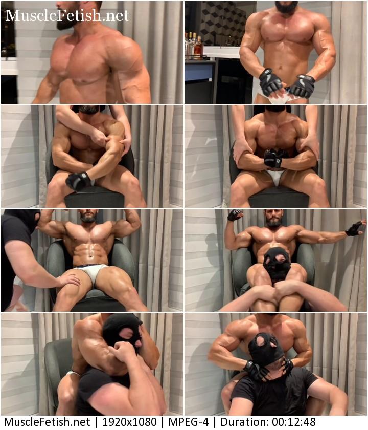 Bodybuilder Rodrigo Alpha - Muscle God Power