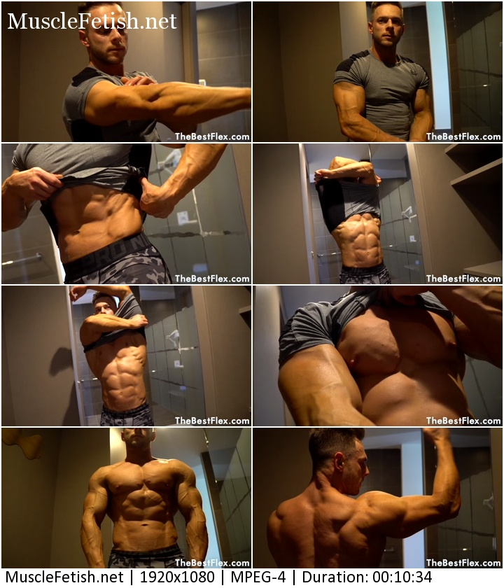 Bodybuilder Ryan James from TheBestFlex - Ripped Blonde Muscle Hunk