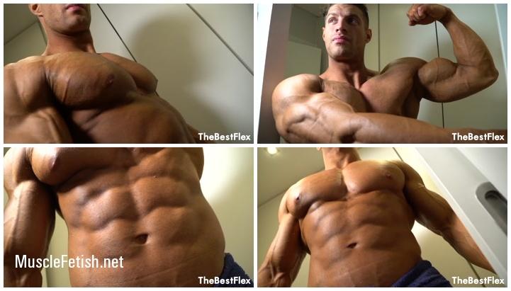 Bodybuilder Tom H - Shredded Hunk Up Close