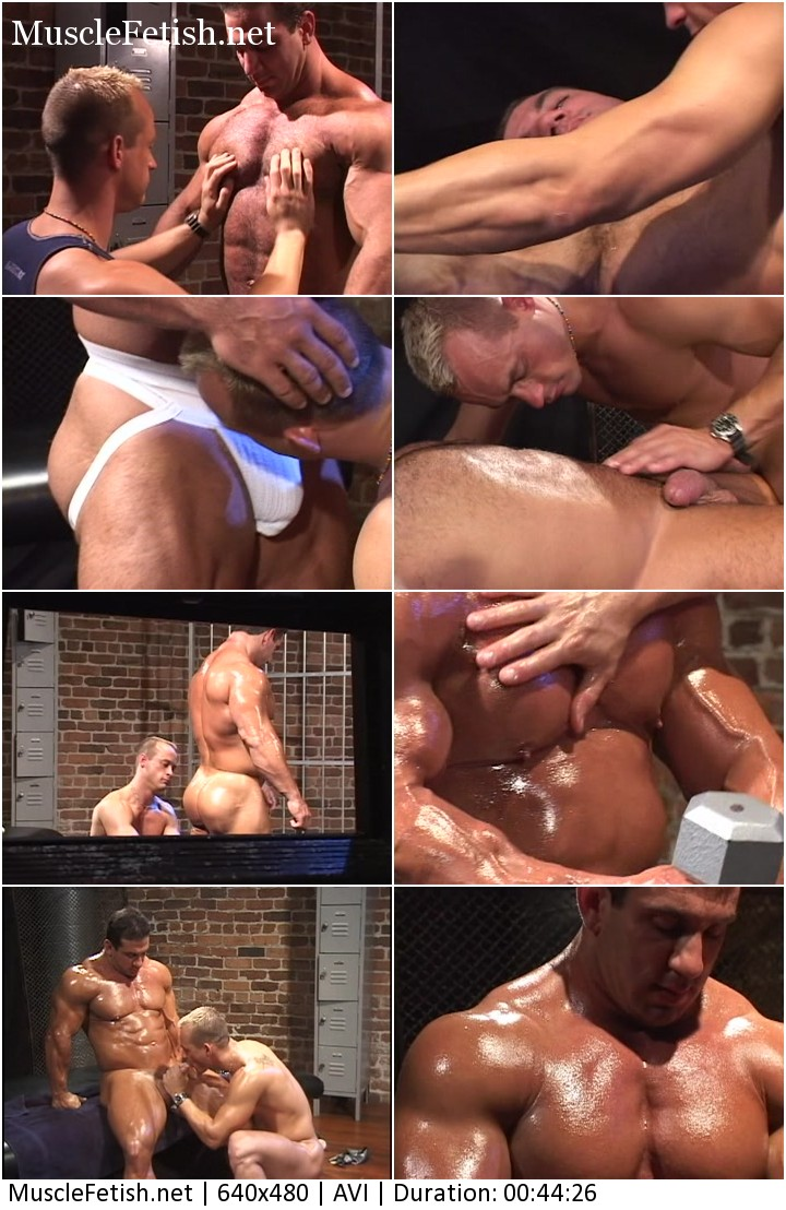 Bodybuilder Tom Katt and Donovan - huge muscle in video: Submission part 2