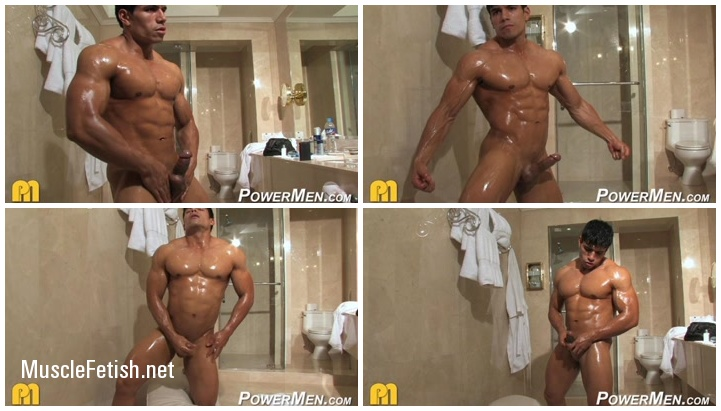 Bodybuilder Tommy Rockets Photoshoot