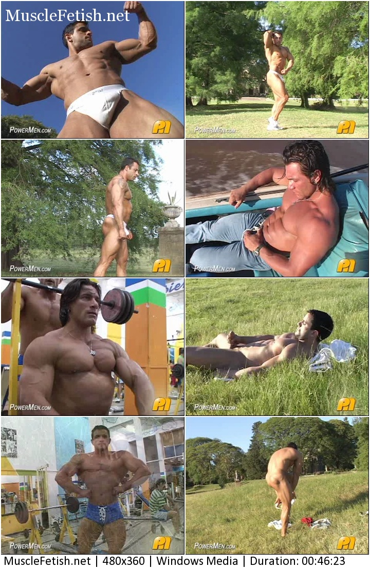 Bodybuilder from PowerMen - Palacio Musculoso (aka Macho Nacho)